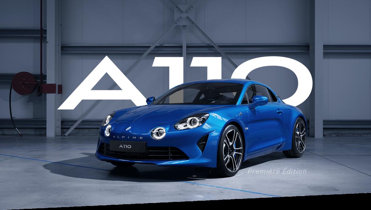 アルピーヌ・ジャポン、新型アルピーヌ A110の発売記念モデルを発売!