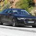アウディ「S6セダン」新型、500馬力のパワフルボディを激写!