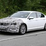 """""""アルテオン顔""""VW「パサート」改良型、実車が初出現!300馬力のVR6計画あり!"""