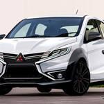 新型三菱ミラージュ登場で、他社スポーツハッチバックを追撃するモデルへ変貌か???