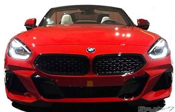 新型BMWZ4のリーク画像が放出されてインスタグラムにて掲載?!お披露目前に見れちゃいました!!