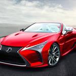 レクサス「LC」初の改良新型と共に「カブリオレ」設定へ!発売は2020年が有力!