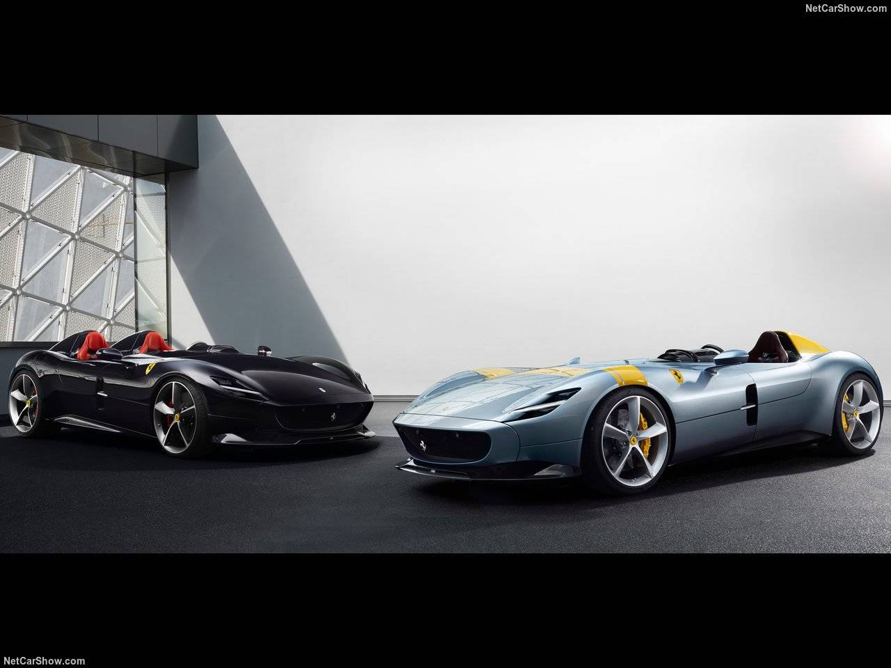 フェラーリからMonza SP1&SP2発表、ワンシートモデルと2シートモデルが一挙にラインアップ!!!