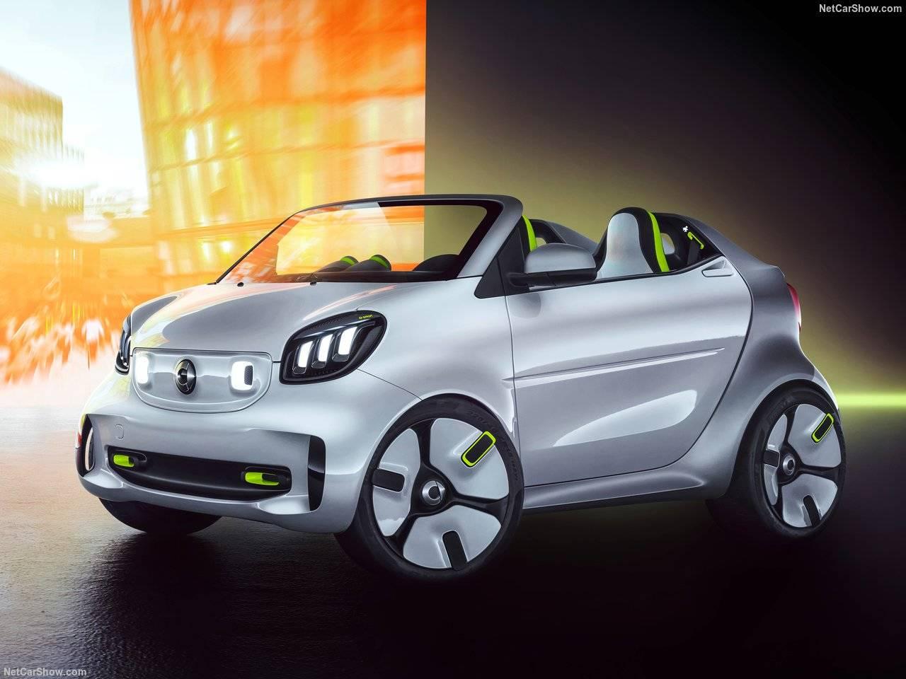 20周年記念モデルとして、パリモーターショーでSmartがforease Conceptを発表!!!