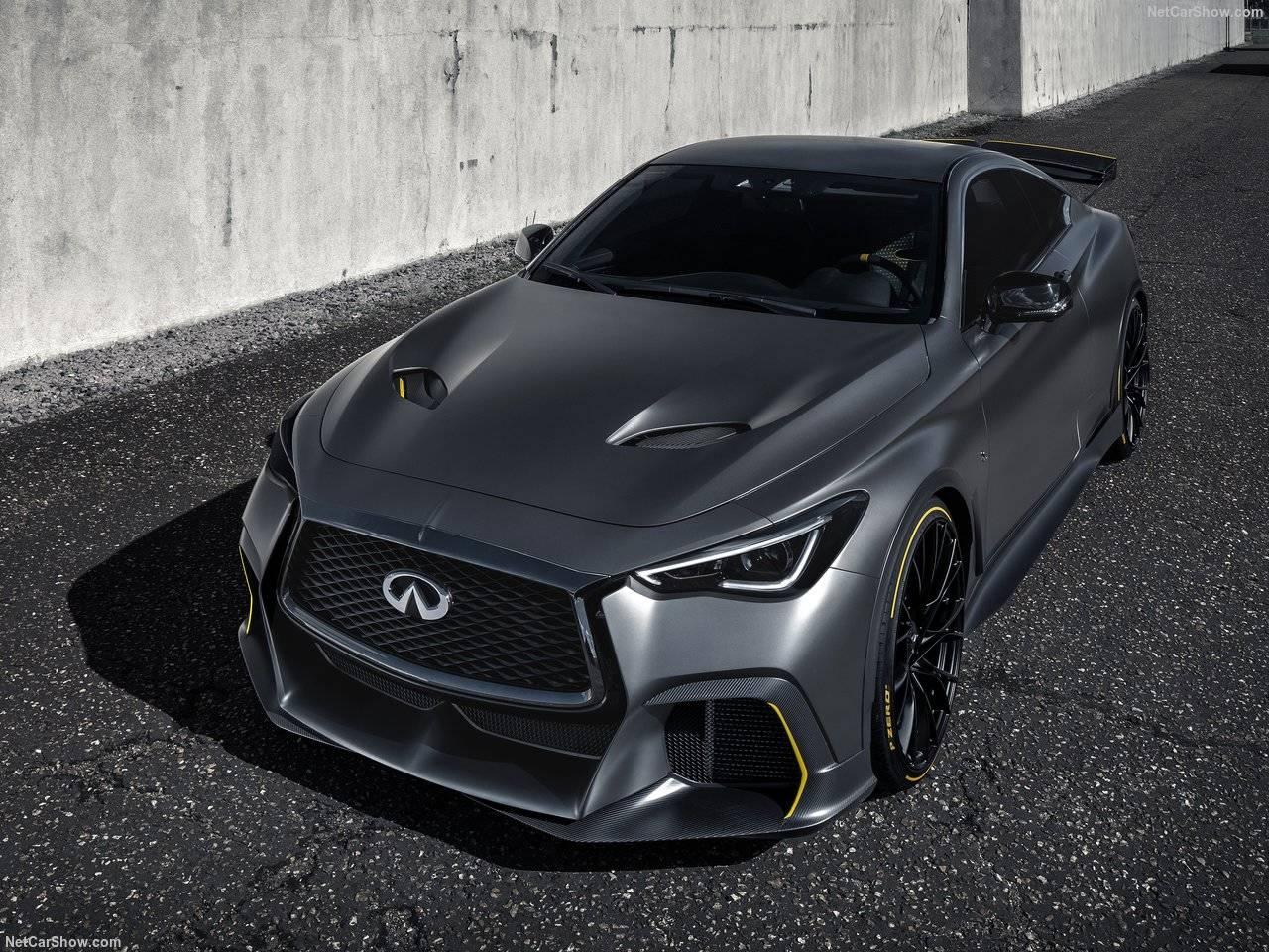 インフィニティQ60 Project Black S Conceptが公開!世界初のデュアルハイブリッド搭載で出力アップ!