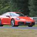 ポルシェ「911」新型にラバオレンジが登場!新たに「PCCB」装着モデルがニュルブルクリンク走行を激写!