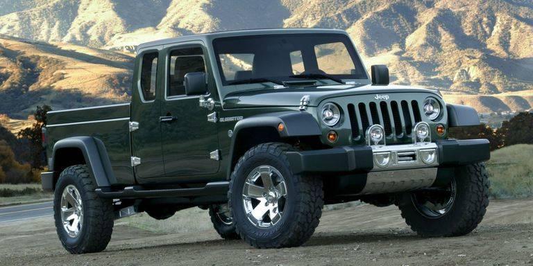 復活!ジープが26年ぶりにピックアップトラックを提案。ロサンゼルスモーターショーで公開予定?!