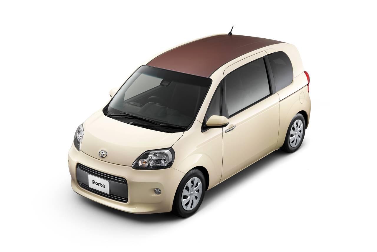 トヨタが「ポルテ」と「スペイド」に特別仕様車を設定