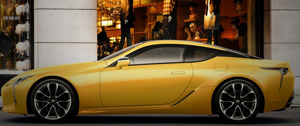 レクサスLC500h/LC500から特別仕様車となるLuster Yellowが販売開始。12/31までの期間限定販売。