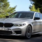 ハイパフォーマンスモデルの新型BMW M5 Competition登場