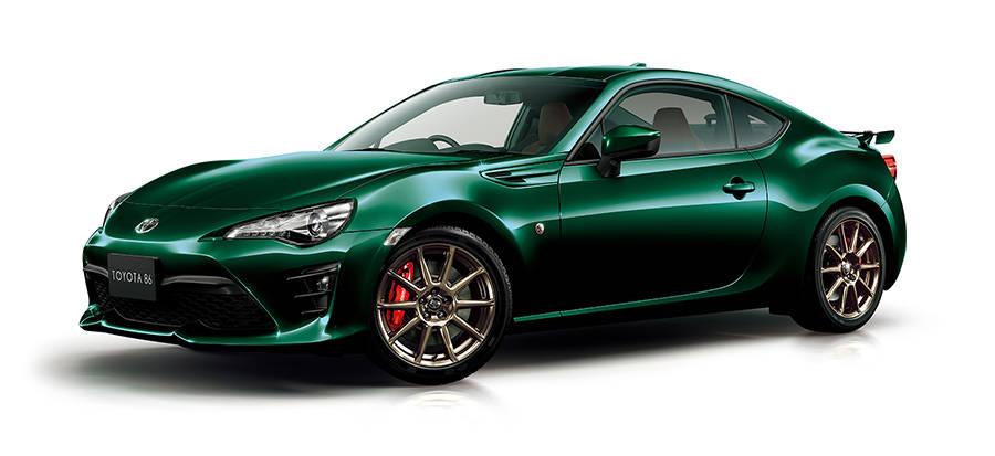 トヨタが86のグリーンカラー特別仕様車を期間限定で販売!その詳細を紹介します!
