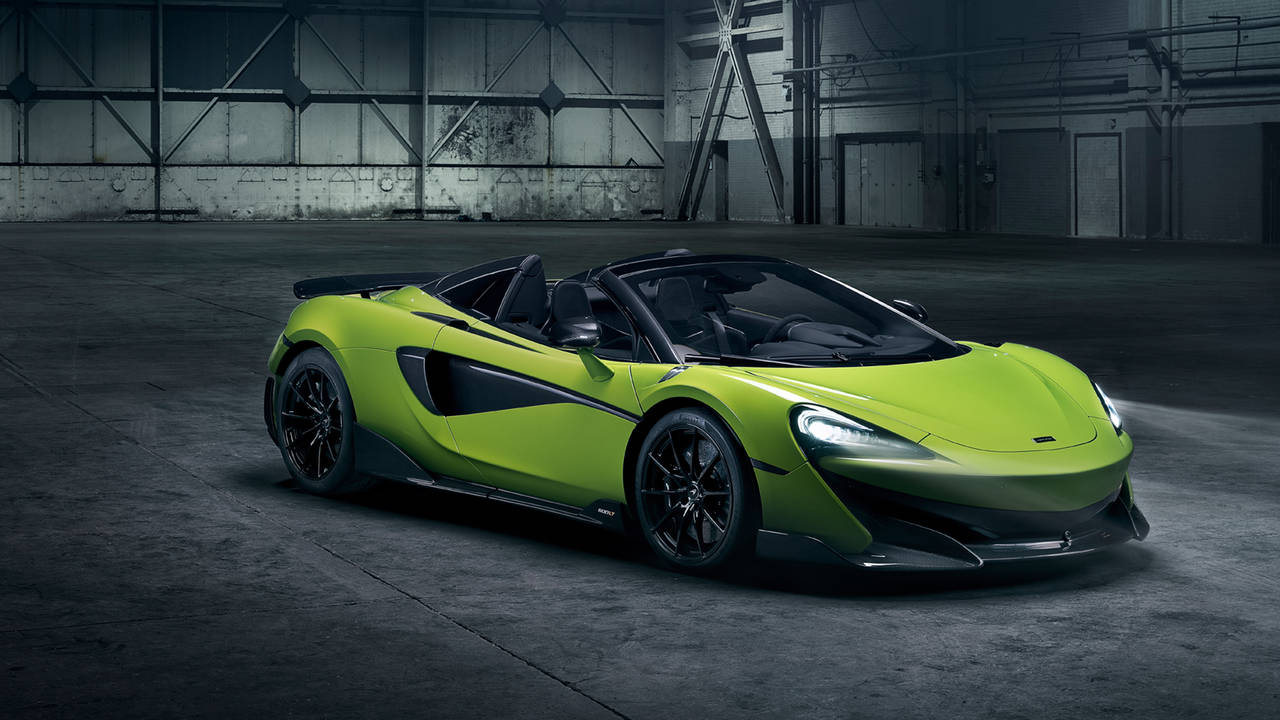 <動画あり>NEW McLaren 600LT Spider登場!