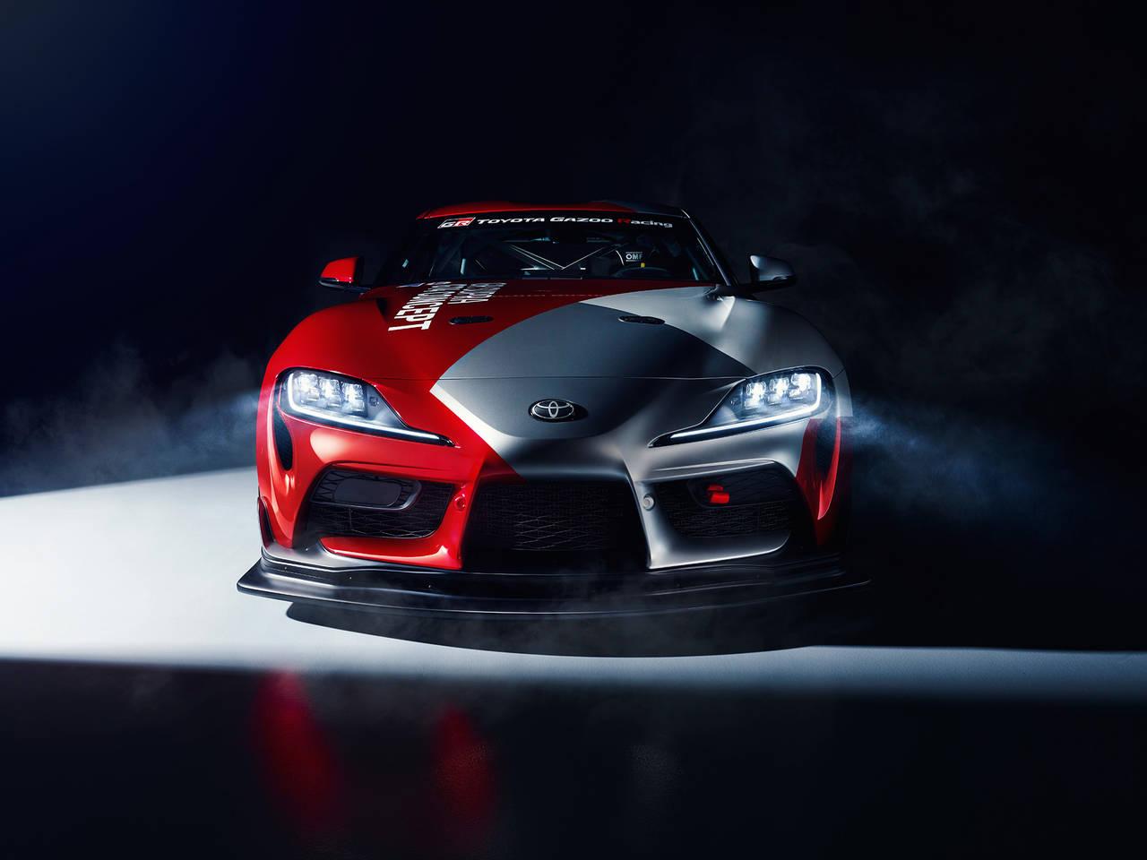 <動画あり>トヨタGR Supra GT4 Conceptを初公開!