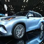 トヨタが新型ハイランダーをニューヨークで初公開
