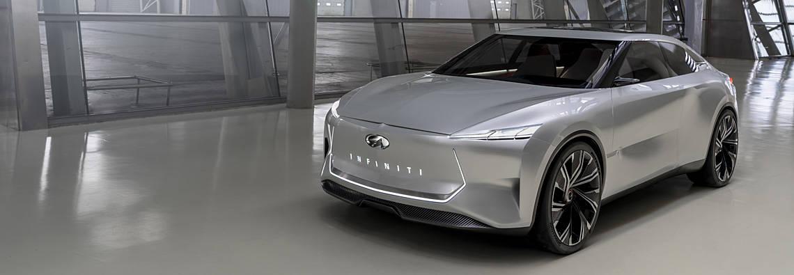 日産の高級車ブランド、インフィニティが「Qsインスピレーション」を世界初公開!