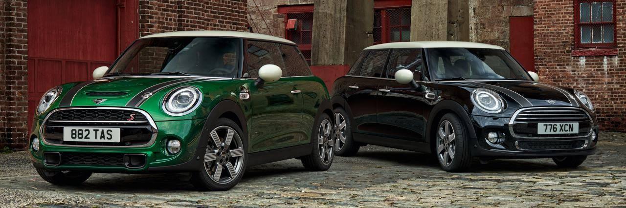 ミニ 60周年記念車が登場、初代をオマージュした特別仕様に!