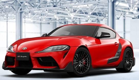トヨタ 新型スープラに早々にTRDパーツが設定!