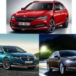 Skodaからセダン・ワゴン・SUVの3モデル発表、並行輸入しては!