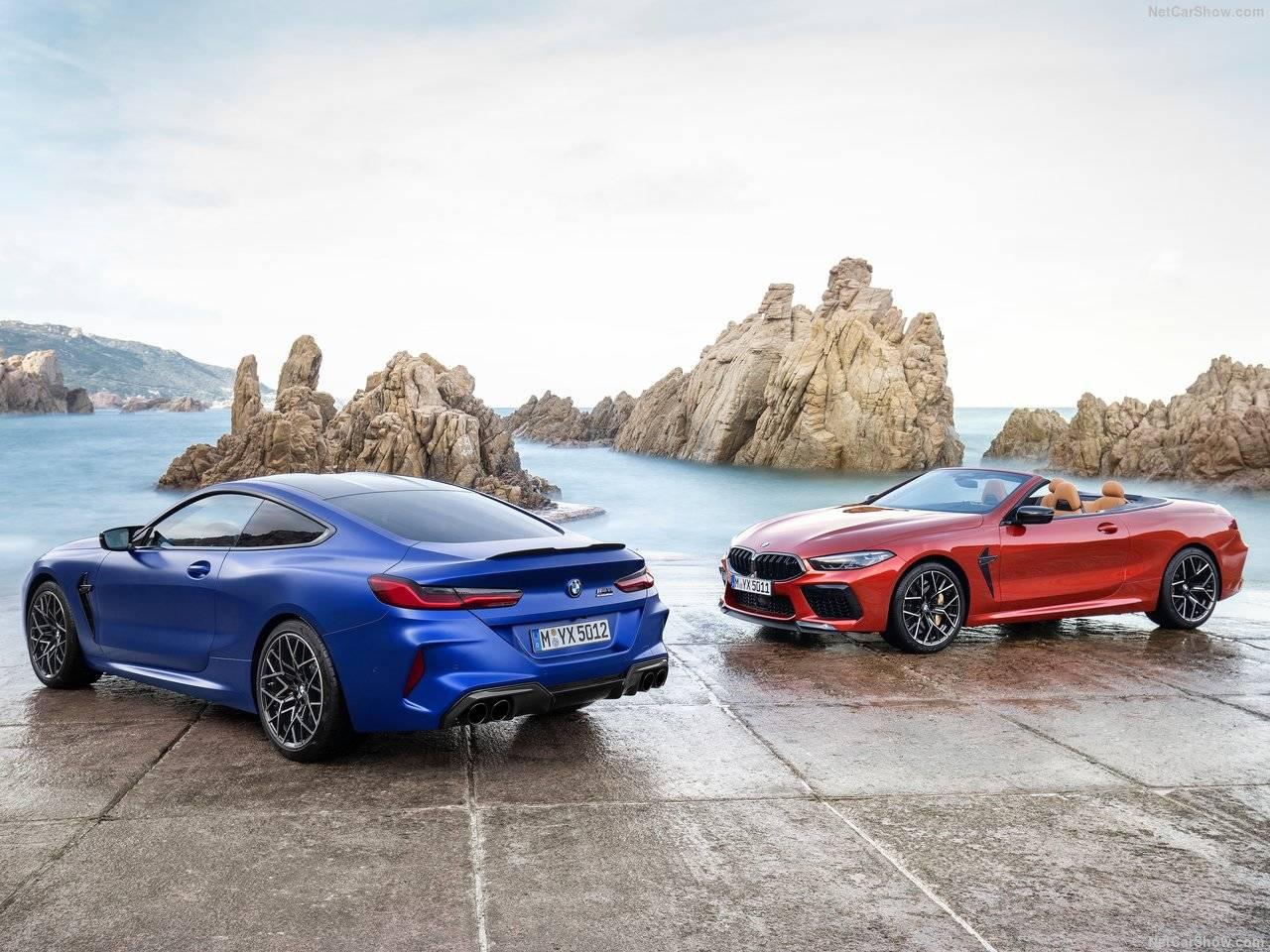BMW 新型M8 クーペ&コンバーチブル登場、M独自の新装備満載!