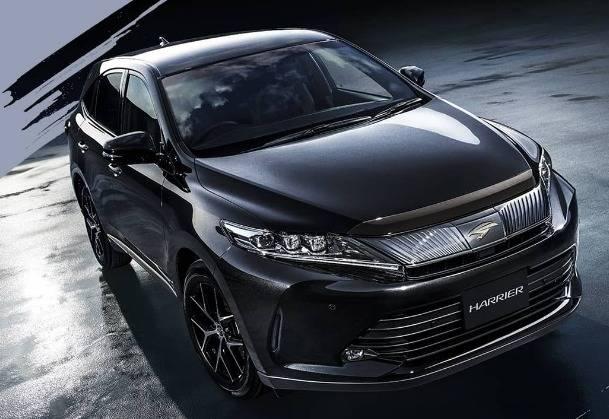 トヨタ ハリアーに特別仕様車を設定、ブラック基調がポイント