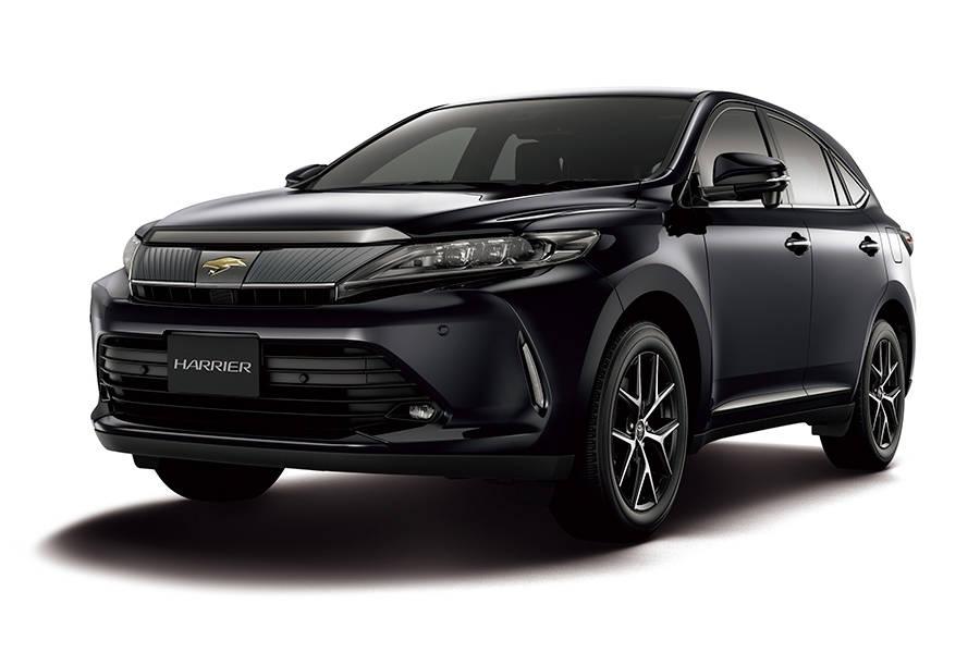 トヨタのSUV、ハリアーにブラック基調の特別仕様車を設定!