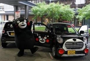 熊本県×熊本県オールトヨタのコラボ!くまモンレンタカー始動