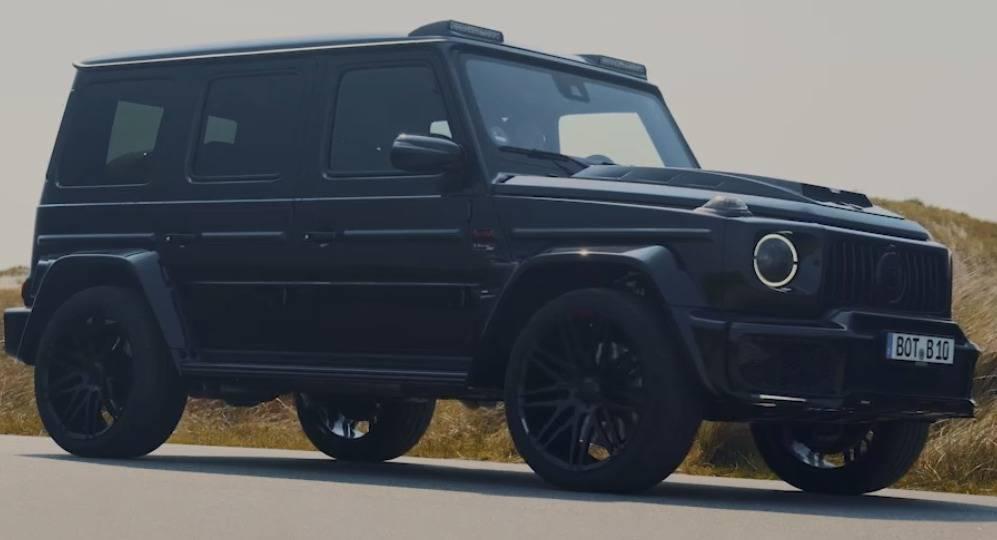 ブラバスから2種類の限定モデルが本国で登場、シャドーorブラック?!