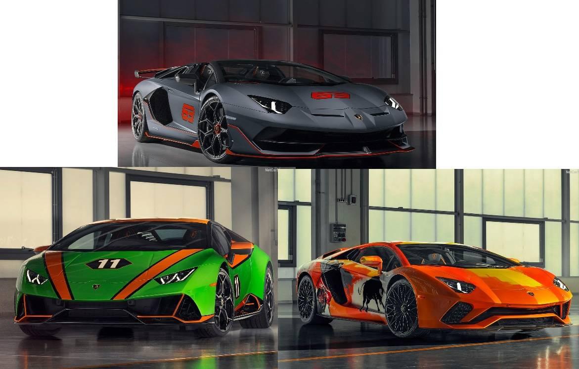ランボルギーニから3モデルが登場、ハイパーカーの魅力満載!