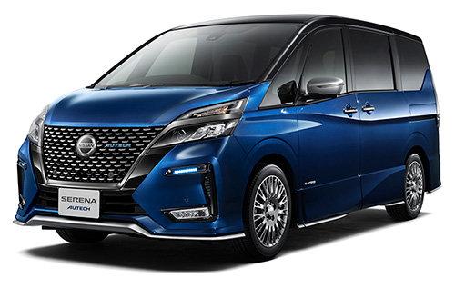 日産のミニバン、「セレナ」の「AUTECH」仕様車がマイナーチェンジして発売予定!