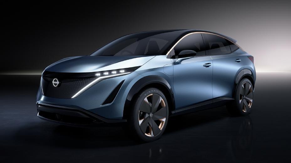 日産が「アリア コンセプト」を世界初公開、日産の未来を載せた車に!