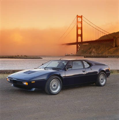1980 BMW M1 near the Golden...