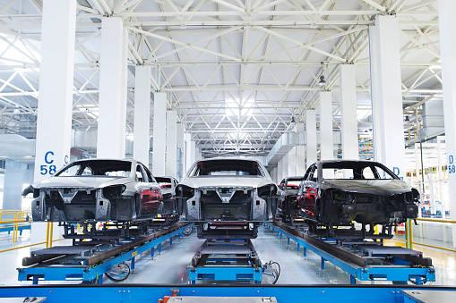 Car manufacturing plant, Wu...