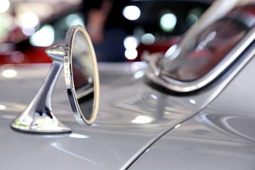 メルセデスベンツ 300SL 側面および後部ミラー