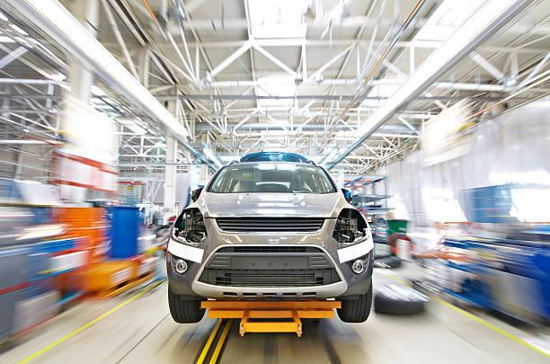 Car factory in Russia