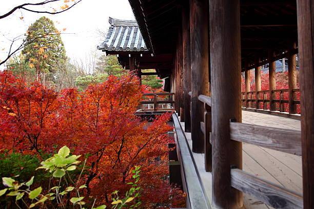 Tofuku-ji Temple, wooden br...