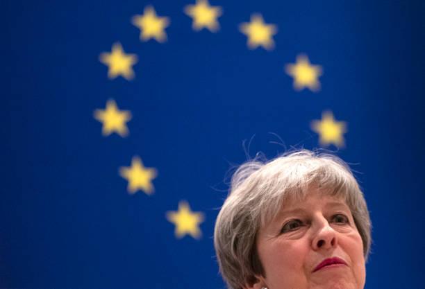 合意無き離脱を巡り、頭を痛める英国のメイ首相