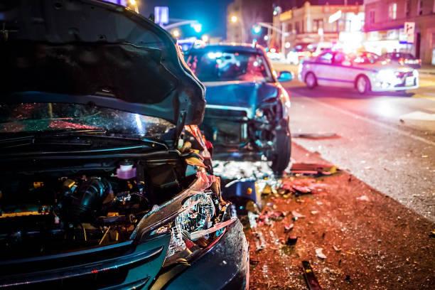 警察と交通事故