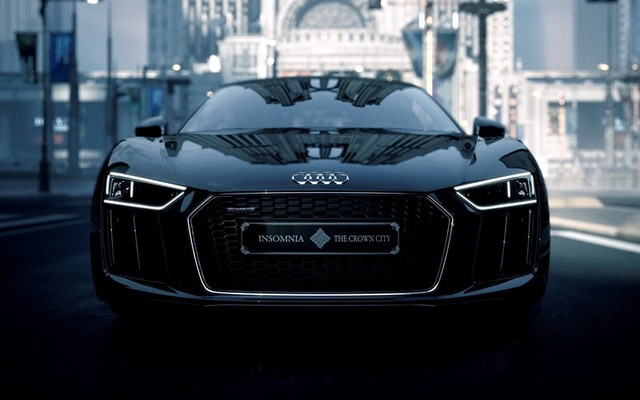 """The Audi R8 Star of Lucis"""