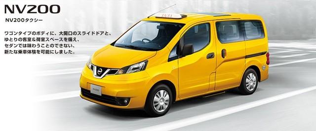 Biz NISSAN(商用車、社用車選びは日産で):NV200タクシー (546)