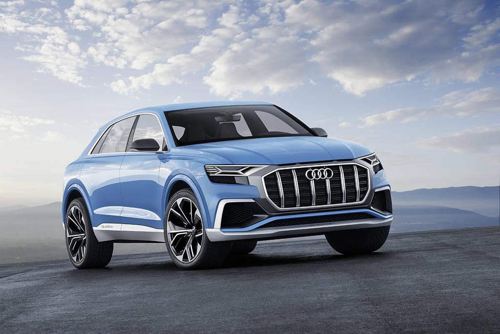 クーペスタイルのフルサイズSUV:Audi Q8 concept