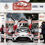 WRC第1戦ラリー・モンテカルロ デイ4 ヤリ-マティ・ラトバラが2位でフィニッシュ WRC復帰戦でモナコの表彰台に立つ