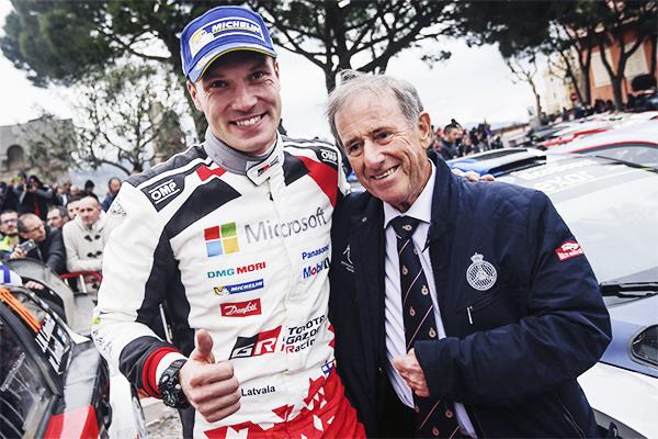 WRC第1戦ラリー・モンテカルロ デイ4ヤリ-マティ・ラトバラが2位でフィニッシュWRC復帰戦でモナコの表彰台に立つ | トヨタグローバルニュースルーム (2131)