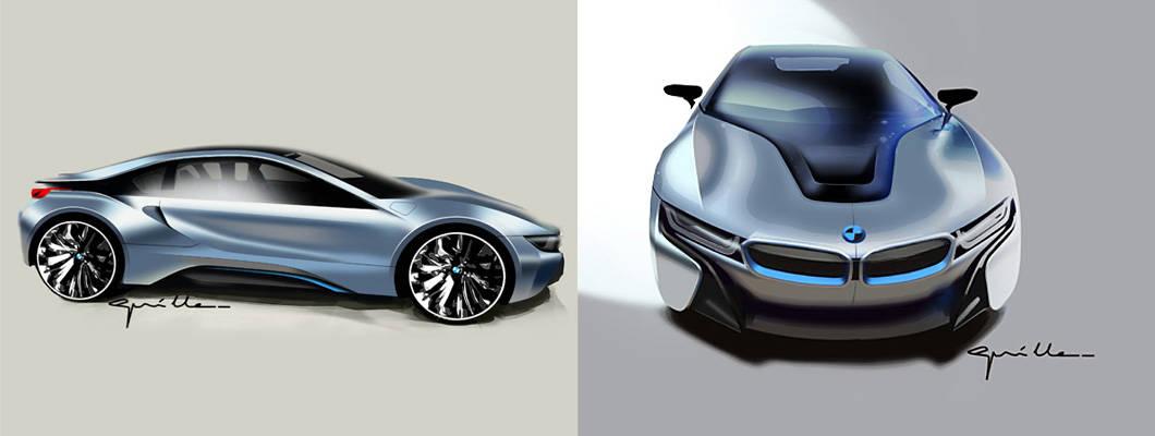BMW のプラグイン・ハイブリッド・スポーツ・カー「BMW i8」の限定モデル「Protonic Dark Silver」を発売