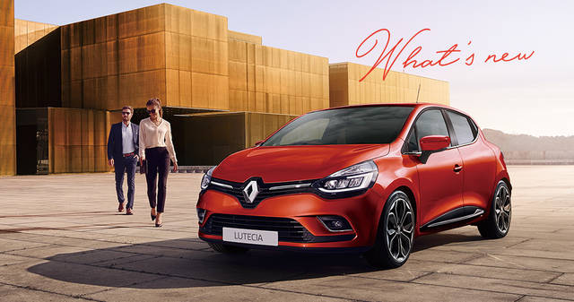 Renault Japon | Official Web Site | RENAULT PRESSE #61 WHAT'S NEW:「さらなる上質さ」を追い求めて ルノー ルーテシアが進化 (2916)