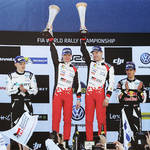 WRC第2戦ラリー・スウェーデン デイ4 ラトバラが首位の座を守り今季初優勝 トヨタに18年ぶりの勝利をもたらす