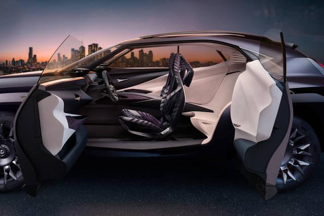 LEXUS、パリモーターショーでコンパクトクロスオーバーのコンセプトカー「UX Concept」を世界初公開   トヨタグローバルニュースルーム (3191)