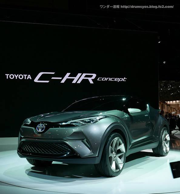 トヨタ新型SUV C-HR(CHR)!価格は251.6万円から ! こりゃ売れるぞ!ヴェゼルとの比較も! | ワンダー速報 (3260)