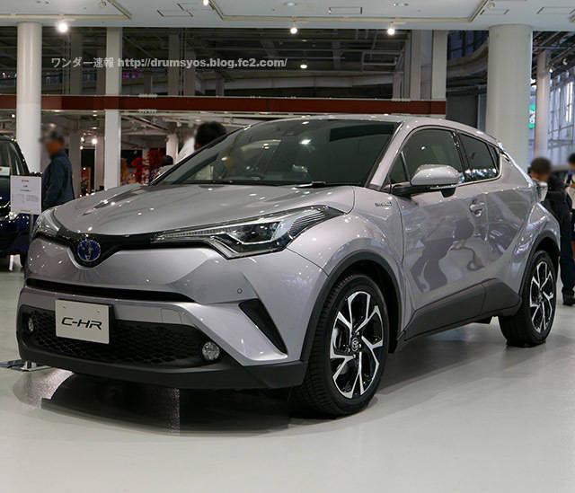 トヨタ新型SUV C-HR(CHR)!価格は251.6万円から ! こりゃ売れるぞ!ヴェゼルとの比較も! | ワンダー速報 (3261)