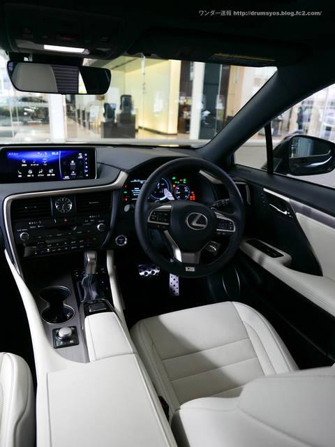 新型レクサス RX 試乗インプレッション 内装の評価は?運転席周りをチェック!2 | ワンダー速報 (3724)