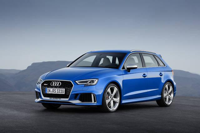 新型Audi RS 3 Sportback、新しいエンジンとよりシャープになった外観のAudi RS 3 Sportbackをジュネーブ国際モーターショーに出品 | Audi Japan Press Center - アウディ (3875)